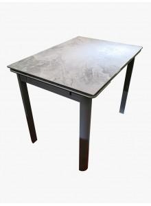 岩石灰陶瓷玻璃開合餐檯
