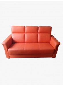 Half leather sofa (No. 2104)