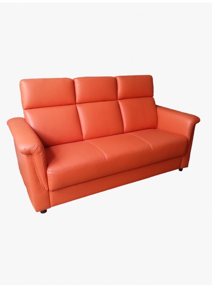 Half leather sofa (No. 2104)