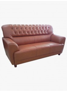 Half leather sofa (No. 2107)