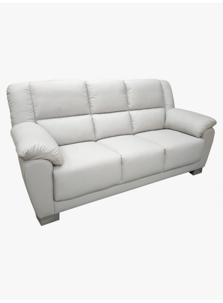 Half leather sofa (No. 6138)