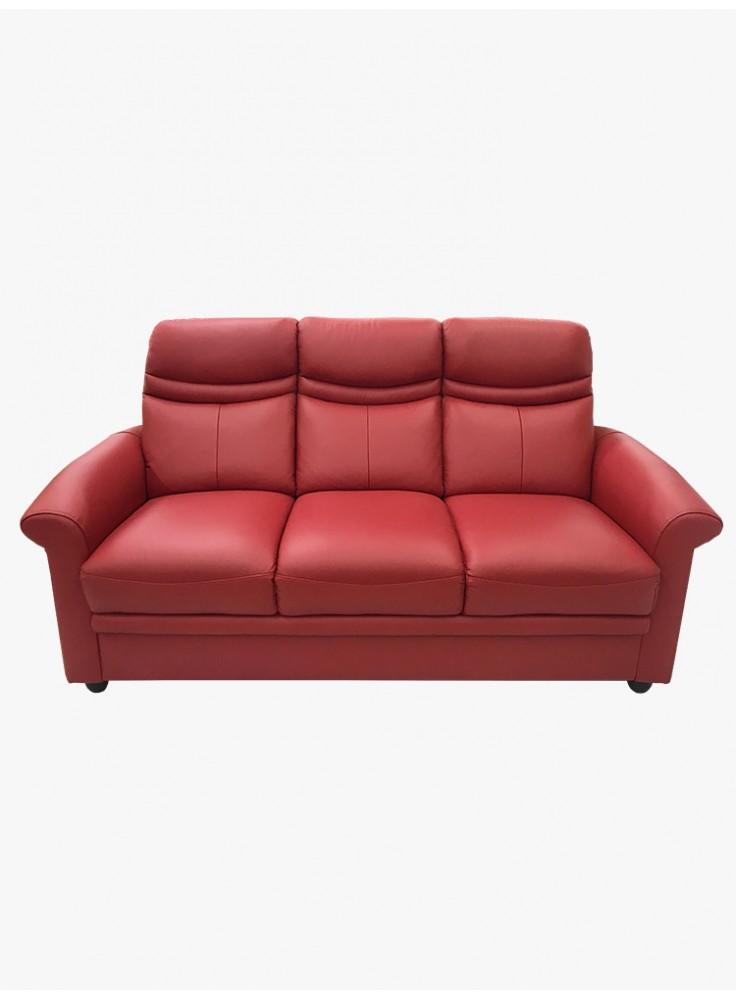Half leather sofa (No. 6228)