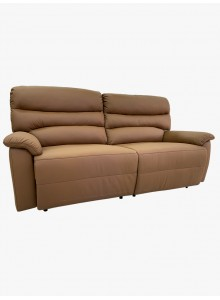 Half leather and recliner sofa (No. 6565)