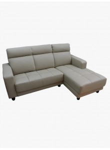 Half leather and modular sofas (No. 9820)